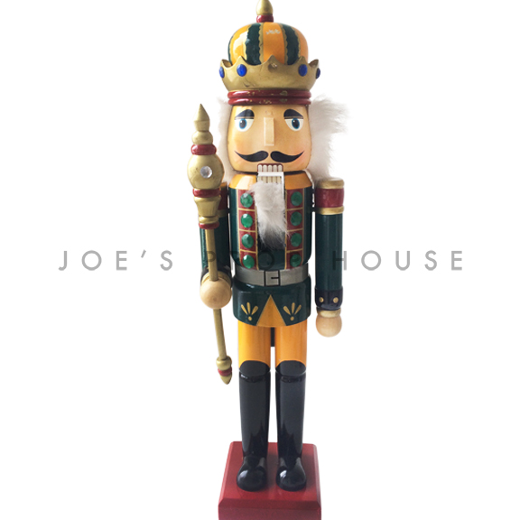 Francis Striped Crown Nutcracker