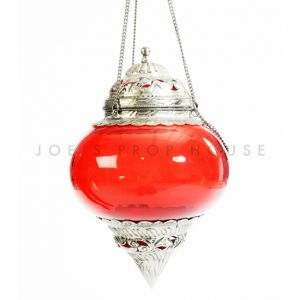 Pasha Hanging Lantern Red