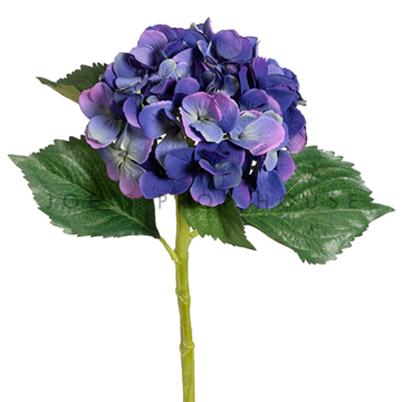 Artificial Long Stem Hydrangea Purple