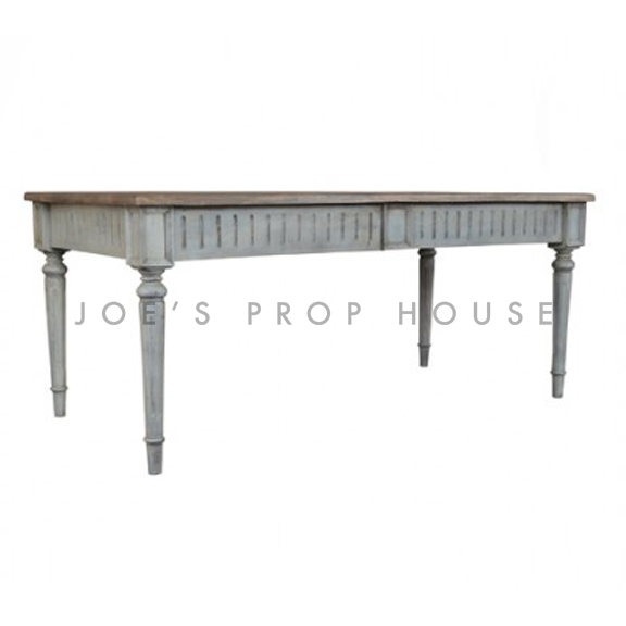 Grigio Dining Table L70in