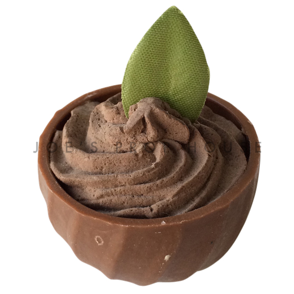 Chocolate Mousse Chocolate Cup Dessert Prop