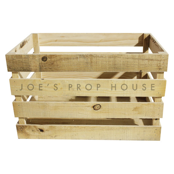 Wooden Crate Large Natural