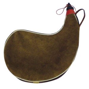 Large Leather Wineskin