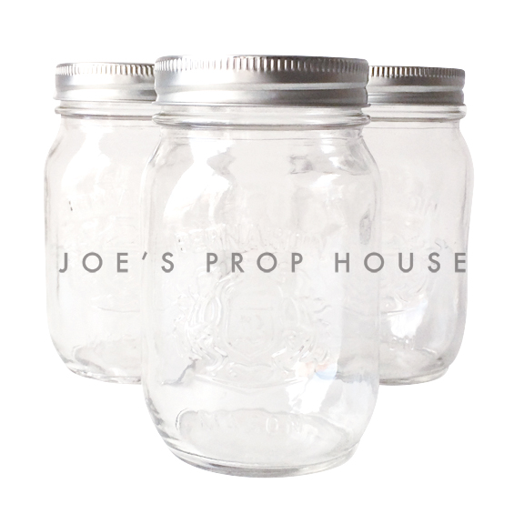 Clear Mason Jars 500ML