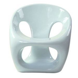 Pretzel Chair White
