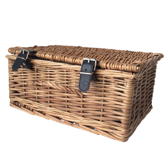 Charles Wicker Picnic Basket SMALL