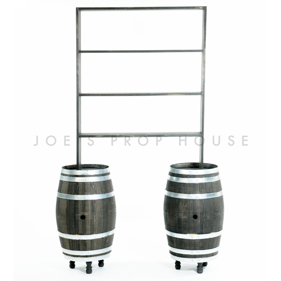Barrel Barback Shelf