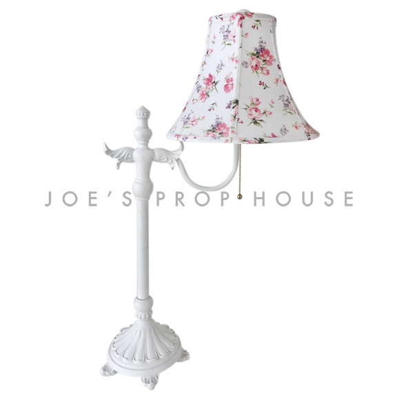 Ashley Floral Gooseneck Table Lamp