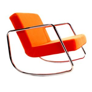 Retro Chrome Rocker Orange