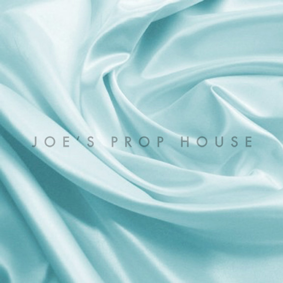 Powder Blue Satin Linen