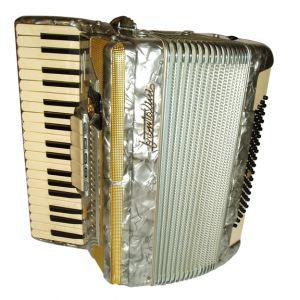 Vintage Brontalini Accordion