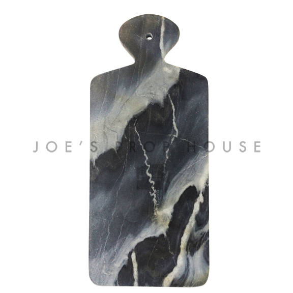 Nuages Marble Serving Board Grey