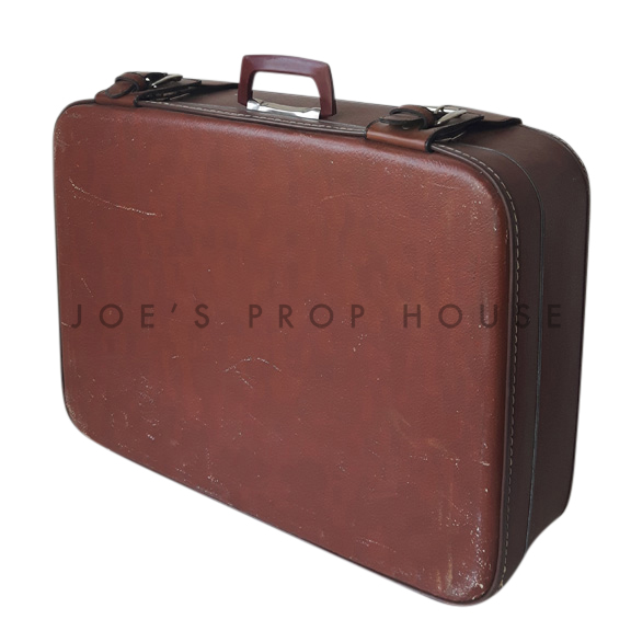 Hobbs Hardshell Suitcase Brown