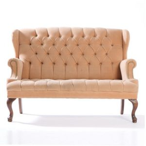 Chester Tufted Loveseat Beige