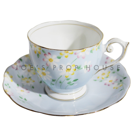 Delilah Floal Teacup and Saucer