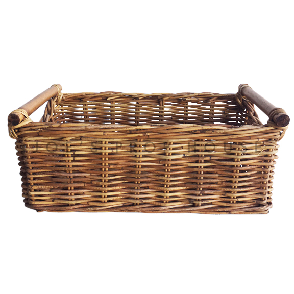 Florianne Rectangular Wicker Basket