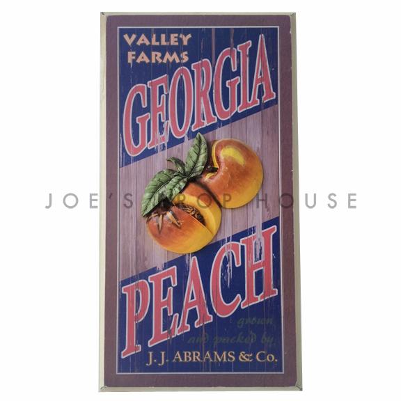 Valley Farms Georgia Peach Sign