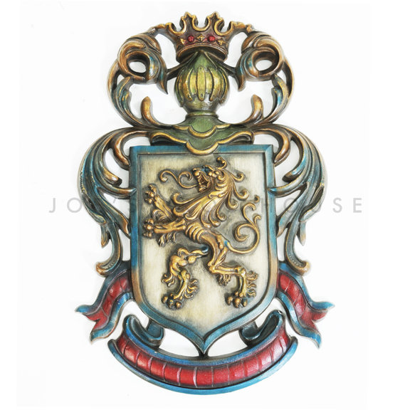 Wall Mount Lion Royal Crest