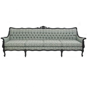 Parisien Tufted Sofa Green