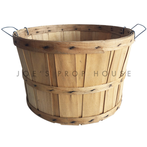 Chipwood Bushel Basket w/Handles LARGE