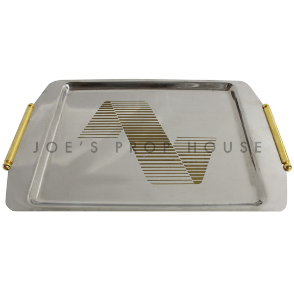 Vivianna Rectangular Stainless Serving Tray
