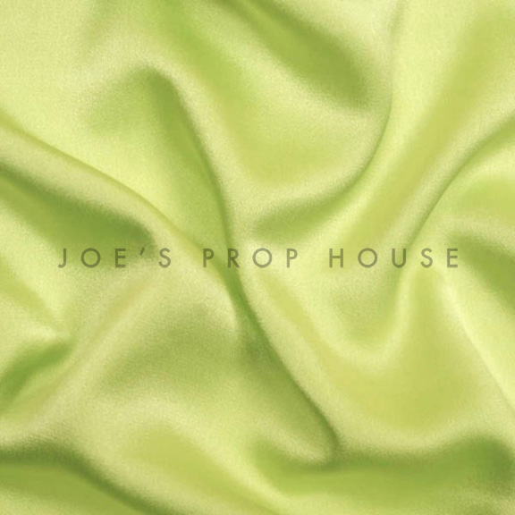 Green Apple Satin Linen
