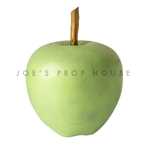 Giant Green Apple w/Stem