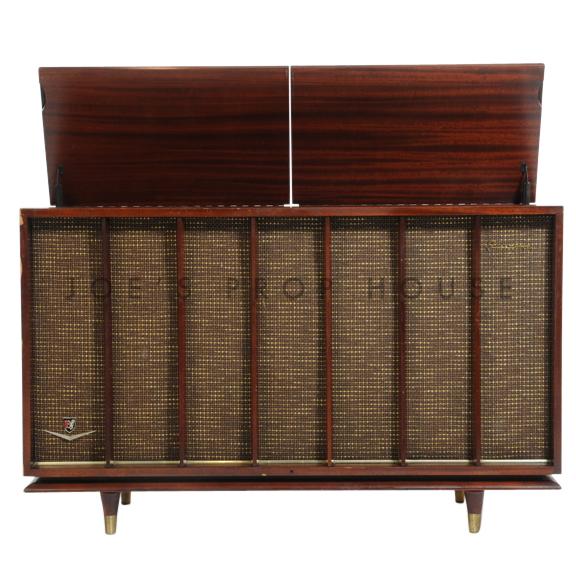 Vintage Radio Record Player Console