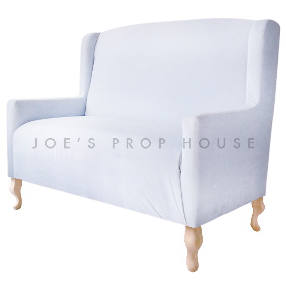 Cielo Low Back Banquette Powder Blue