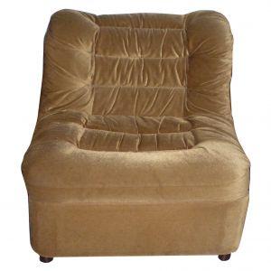Viktor Velour Chair Brown $19.99