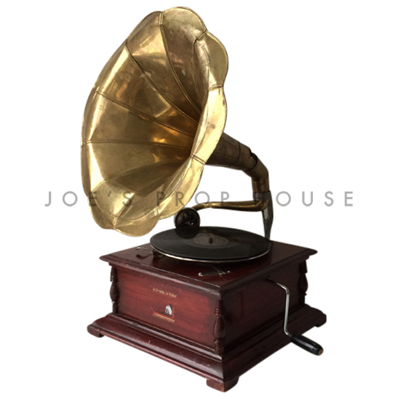 Vintage RCA Gramophone Gold Cone