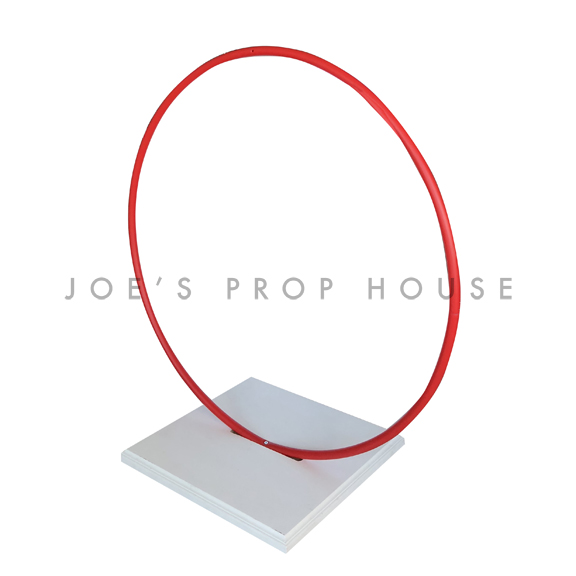 Red Hoola Hoop with Base