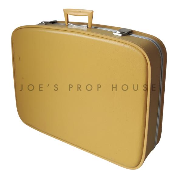 Howard Hardshell Suitcase Mustard LARGE