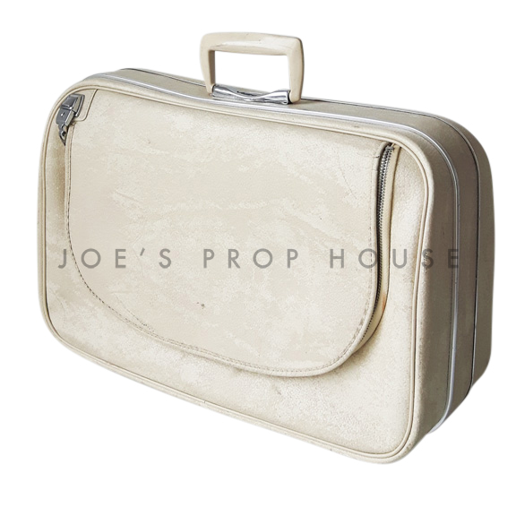 Renette Softshell Suitcase Ivory SMALL