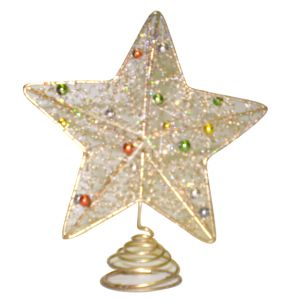 BUY ME / USED ITEM $2.99 each Gold Star Tree Topper