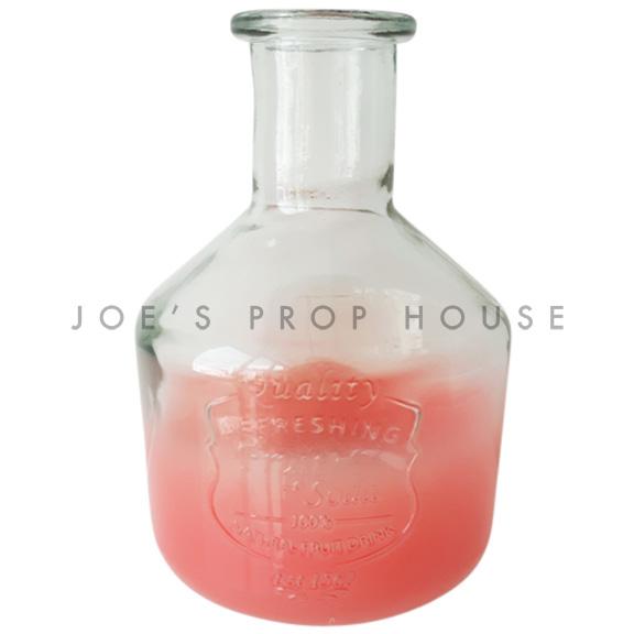 Laurel Ombre Glass Juice Decanter