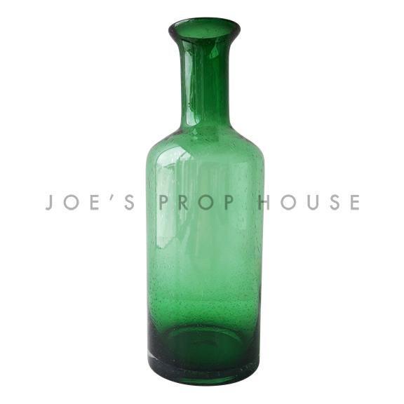 Gail Glass Decanter Green