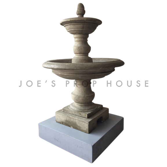 Stone Fountain w/Rolling Base LARGE