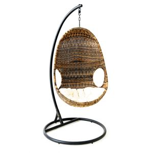 Egg Shape Wicker Chair