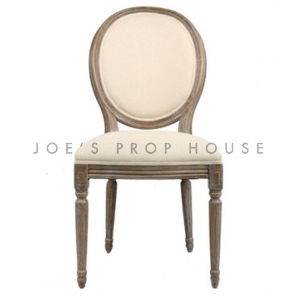 Reclaimed Linen Dining Chair