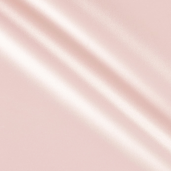Blush PEAU DE SOIE Tablecloth Round 132in