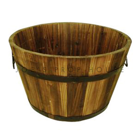 Edmond Round Wood Bucket Medium