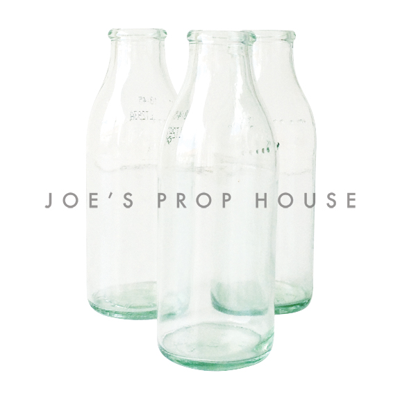 Clear Glass Milk Bottles EXTRA SMALL