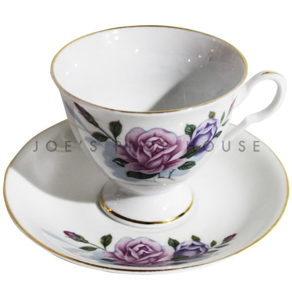 Loren Floral Teacup and Saucer