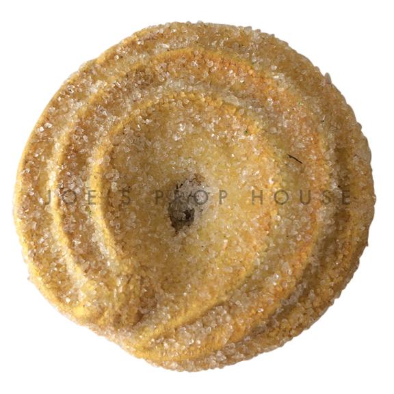 Round Shortbread Cookie Dessert Prop