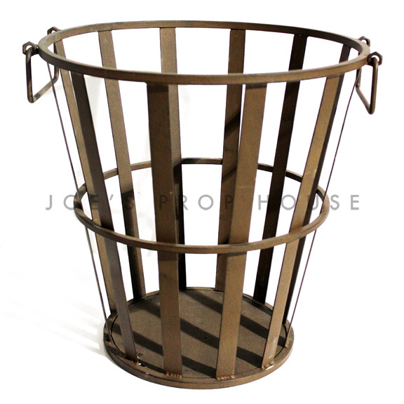 Irondale Metal Basket w/handles Large Tall