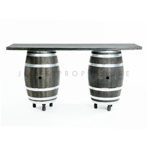 Dark Barrel Bar w/Feet L6ft