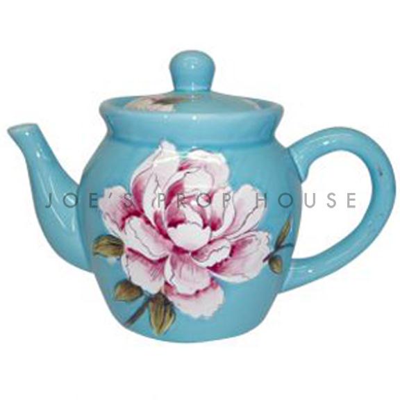 Pink Peony Teapot
