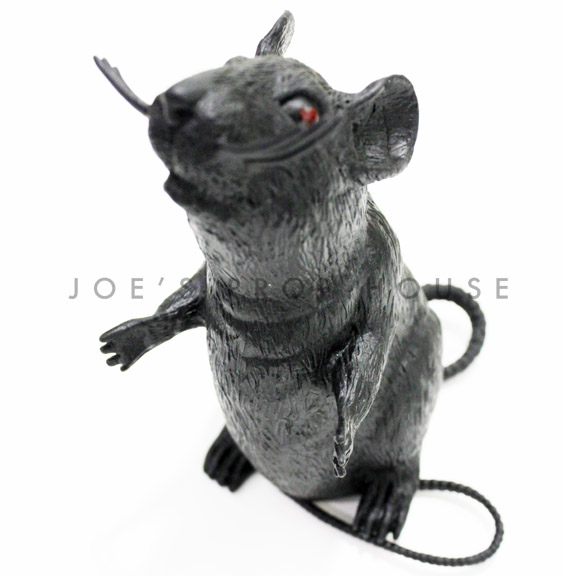 BUY ME / USED ITEM $2.99 each Standing Black Rubber Rat