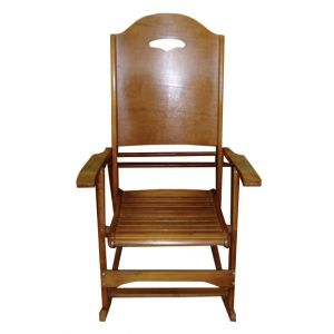 Doris Rocking Chair Brown